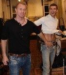 """""""Ay, loca"""", le dice Grigor a Dimitri"""