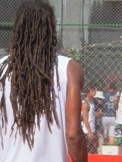 El rasta Dustin Brown