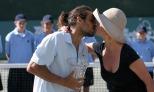 Zabala y el piquito con Catherine Zeta-Jones