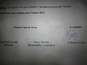 Contrato Fede Nyon