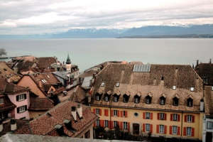 view from the castel, Nyon