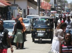 Old-Town-el-centro-de-Mombasa